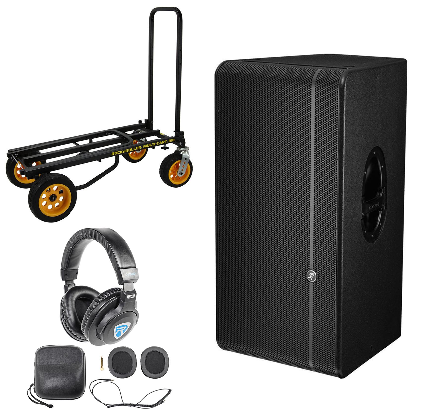 "Mackie HD1521 1600 Watt 15"" Powered Pro/DJ Active Speaker..."