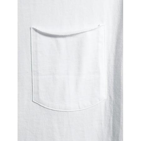 No Boundaries Men's and Big Men's Short Sleeve Elongated Tee, up to Size 5XL