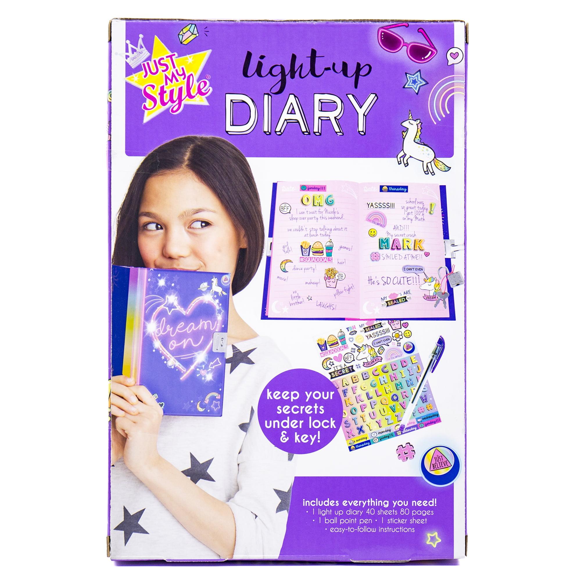 59539363e72 Horizon Group Just My Style Light-Up Diary Kit