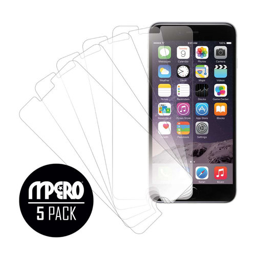 Apple iPhone 6 Plus/6S Plus, Screen Protectors, 5-Pack, Clear