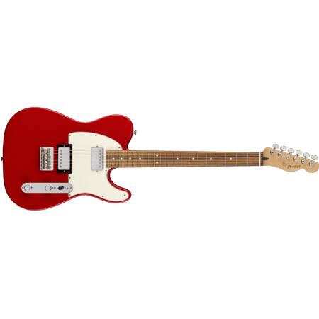 Fender Player Series Telecaster HH Configuration Sonic Red Electric Guitar - (Fender Classic Player Jaguar Special Hh Review)