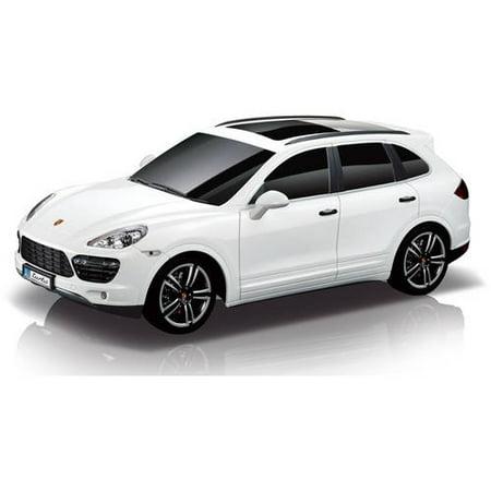 Porsche Cayenne Twin Turbo - Porsche Cayenne, 1:18 R/C Car, White