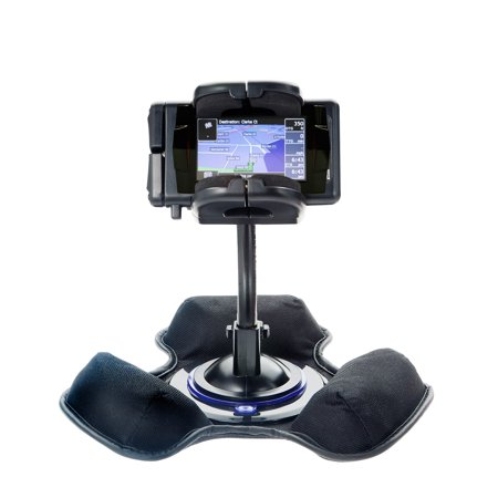 Bean Bag Dashboard Mount - Car / Truck Vehicle Holder Mounting System for Mio Knight Rider Includes Unique Flexible Windshield Suction and Universal Dashboard Mount Options