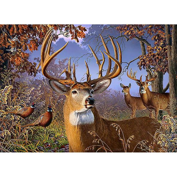 Full Drill Winter Deer 5D Diamond Painting Embroidery DIY Cross Stitch Kits Art