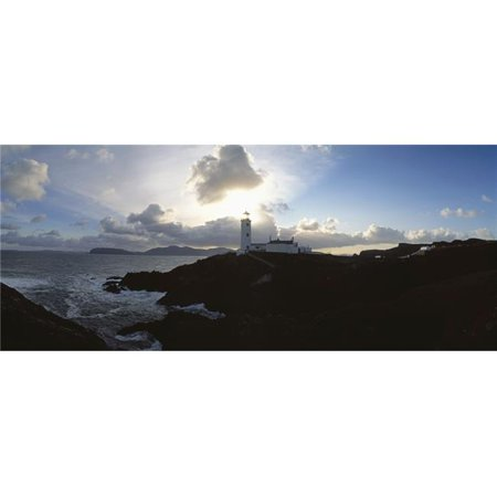 Posterazzi  Fanad Head Lighthouse Co Donegal Ireland - Lighthouse Built in 1817 At Entrance To Lough Swilly from Mulroy Bay Poster Print by The Irish Image Collection, 44 x 18 - Large - image 1 of 1