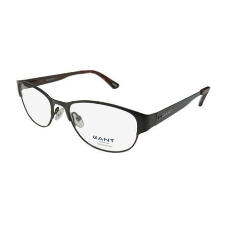 New Gant 101 Womens/Ladies Cat Eye Full-Rim Olive / Chocolate Frame ...