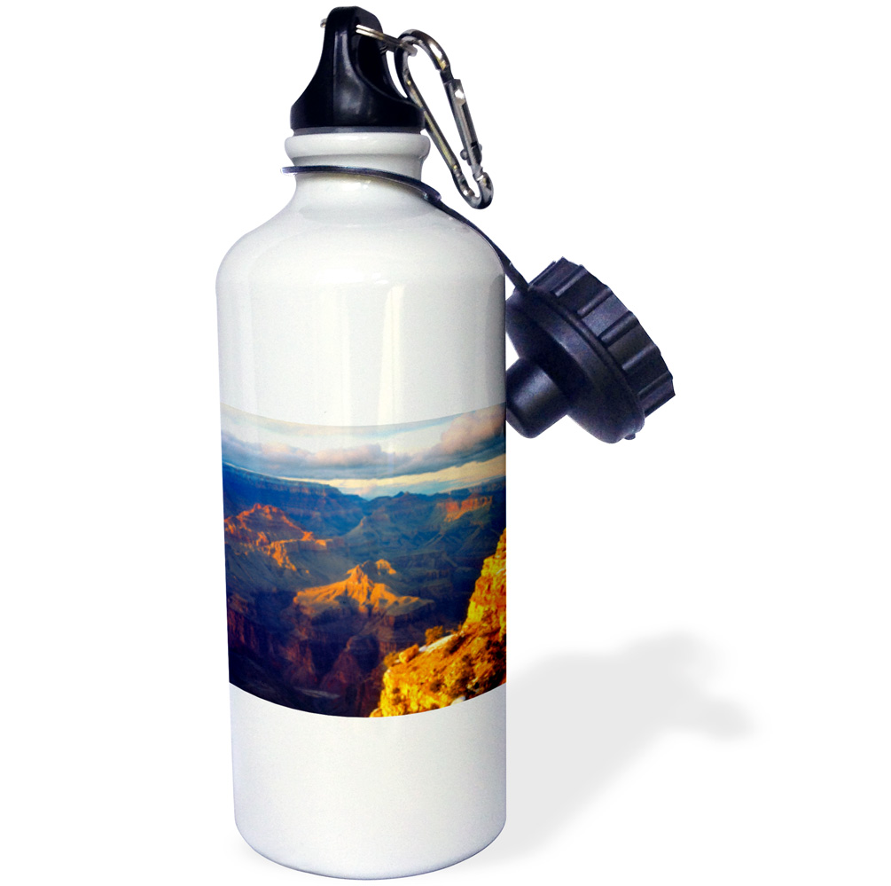 3dRose USA, Arizona, Grand Canyon National Park in winter., Sports Water Bottle, 21oz by Supplier Generic