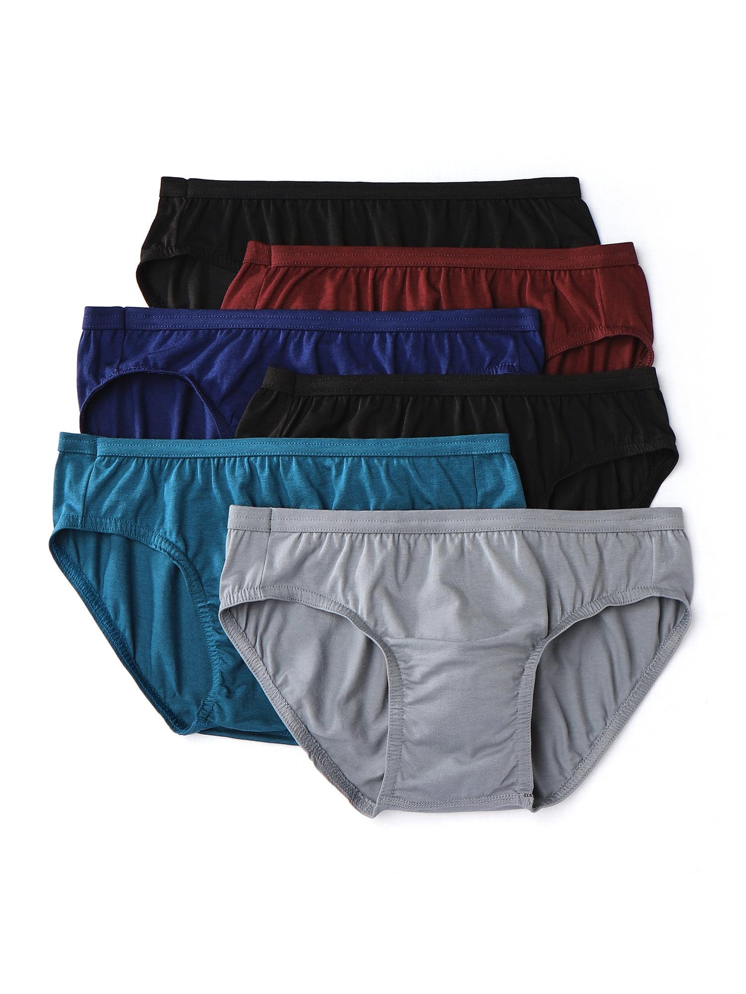 Hanes - Hanes Men's Comfort Flex Fit Tagless Bikinis, 6-Pack - Walmart.com  - Walmart.com