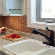 Fasade  Traditional Style #1 Cracked Copper 18-square Foot Backsplash Kit
