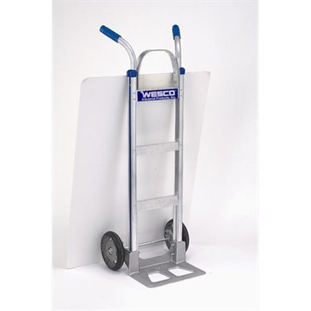 - 18 in.  Series 470 Nose Cobra-Lite Aluminum Hand Trucks - 8 in.  Moldon Rubber Wheel