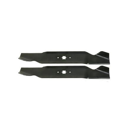 "2 for MTD, Bolens, Troy-Bilt, 942-0610A, 38"" Deck, USA Mower Blades® replacement lawn mower blades."