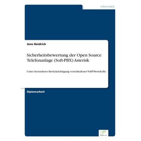 Sicherheitsbewertung Der Open Source Telefonanlage (Soft-Pbx)