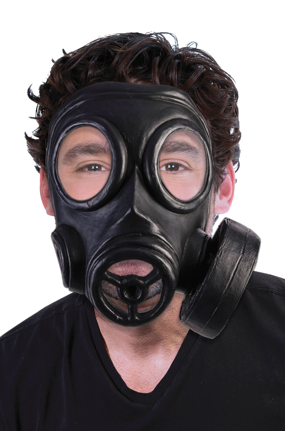 Click here to buy Gas Mask (Black) by Forum Novelties.