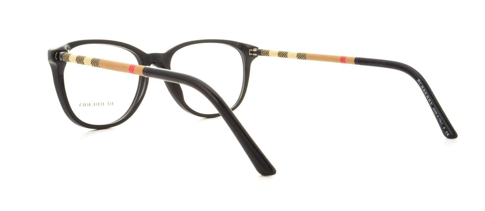 67a27524e45 BURBERRY Eyeglasses BE2112 3001 Black 50MM - Walmart.com