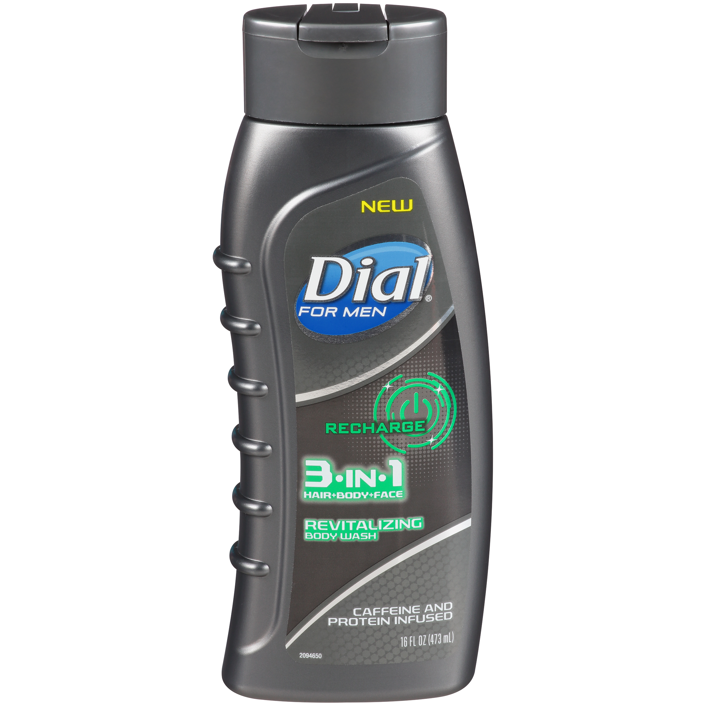 Dial for Men Body Wash, 3-in-1 Recharge, 16 Ounce