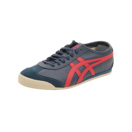 promo code 2dbe5 dee6c Onitsuka Tiger by Asics Mexico 66 Sneakers in Poseidon/Classic Red