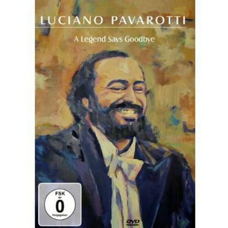 Luciano Pavarotti: A Legend Says Goodbye (DVD)