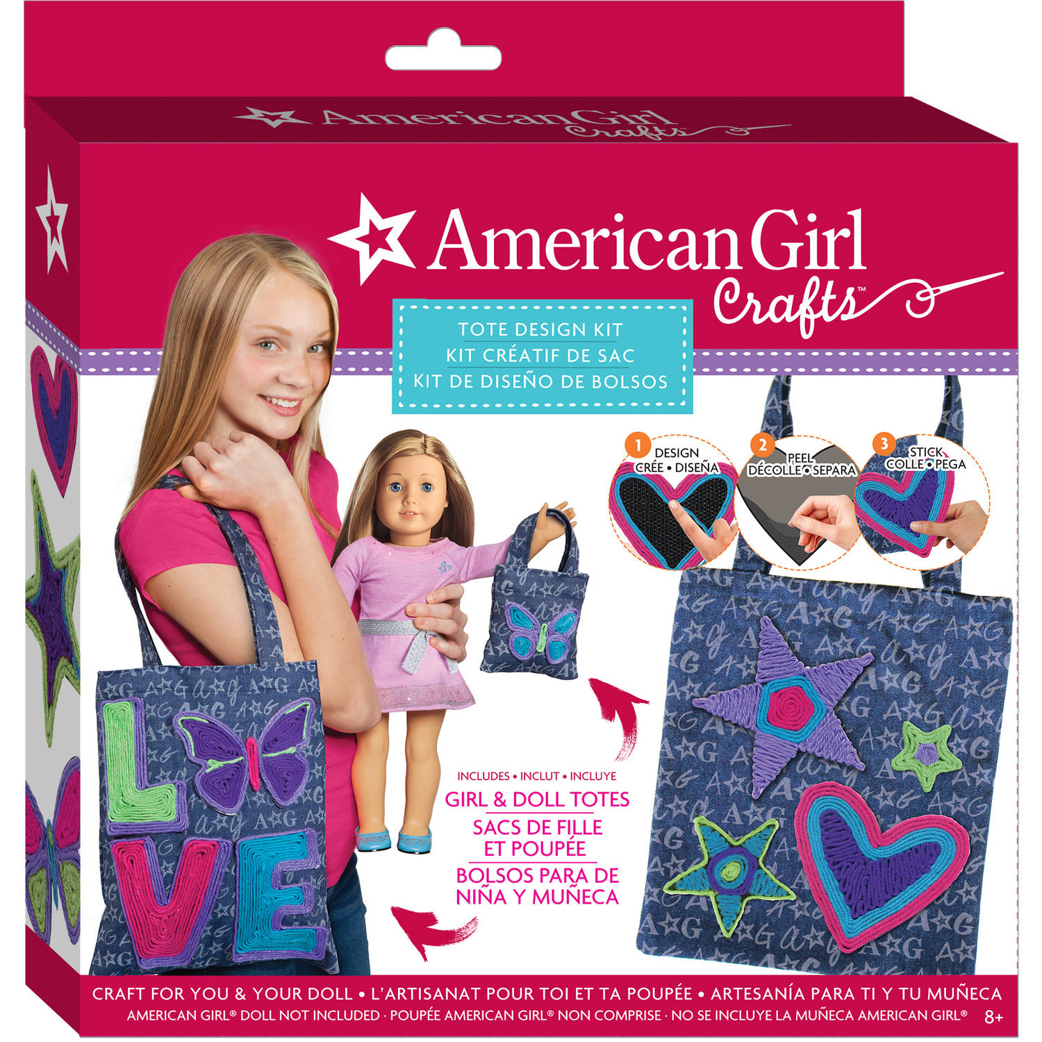 American Girl Tote Bag Design Kit by
