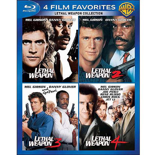 4 Film Favorites: Lethal Weapon Collection (Blu-ray) (Widescreen)