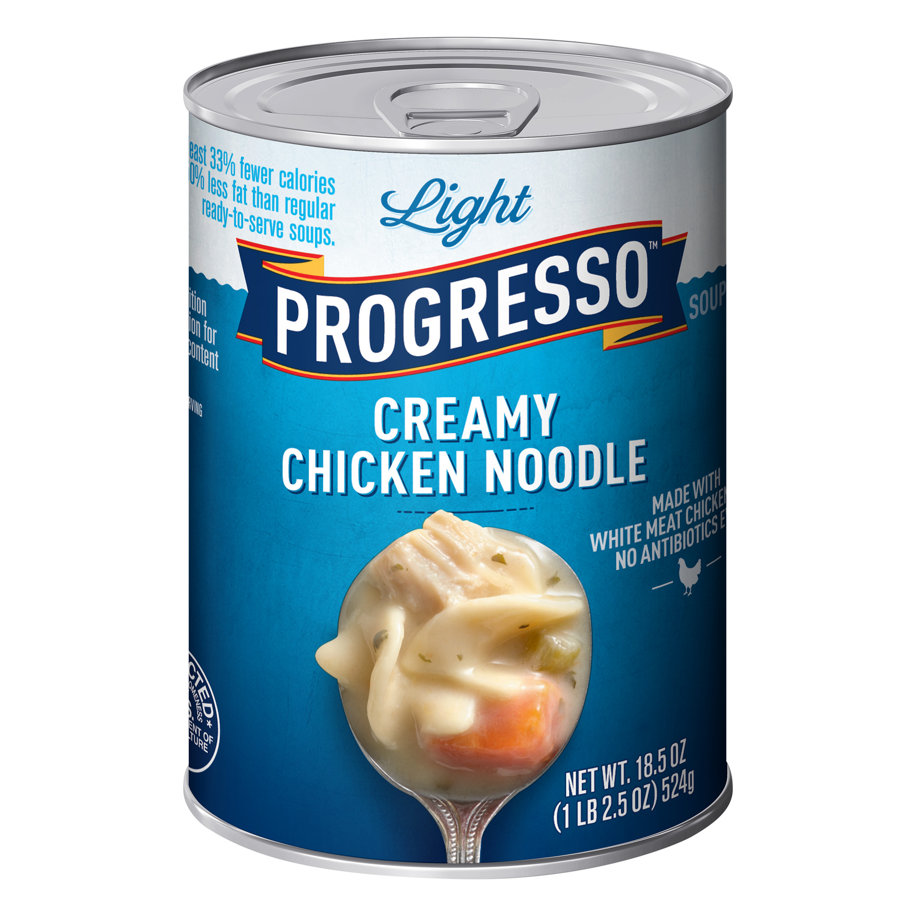Progresso Light Creamy Chicken Noodle Soup, 18.5 Oz Can