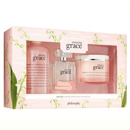 Grace Gift Set - Philosophy Amazing Grace 3 Piece Set