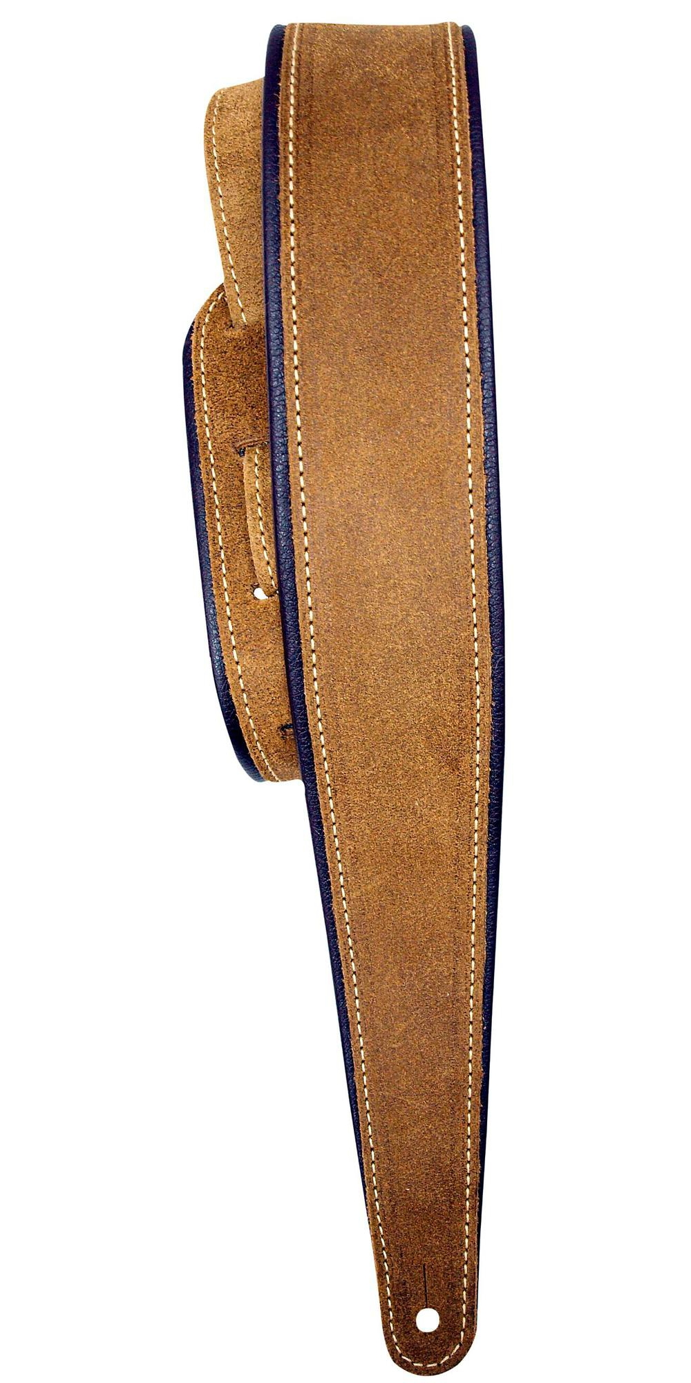"""LM Products 2.5"""" Distressed Suede Guitar Strap with Rolled Edge by LM Products"""