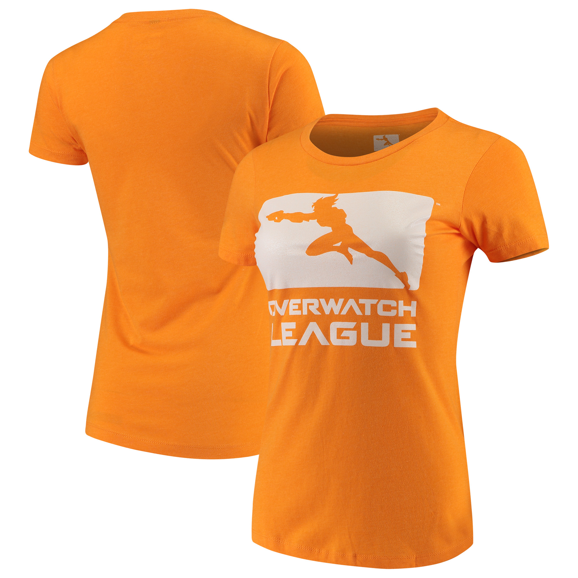 Overwatch League Women's Franchise Logo T-Shirt - Orange