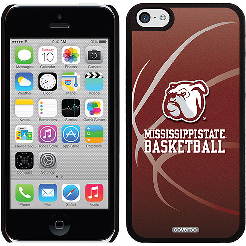 Mississippi State Basketball Design on iPhone 5c Thinshield Snap-On Case by Coveroo