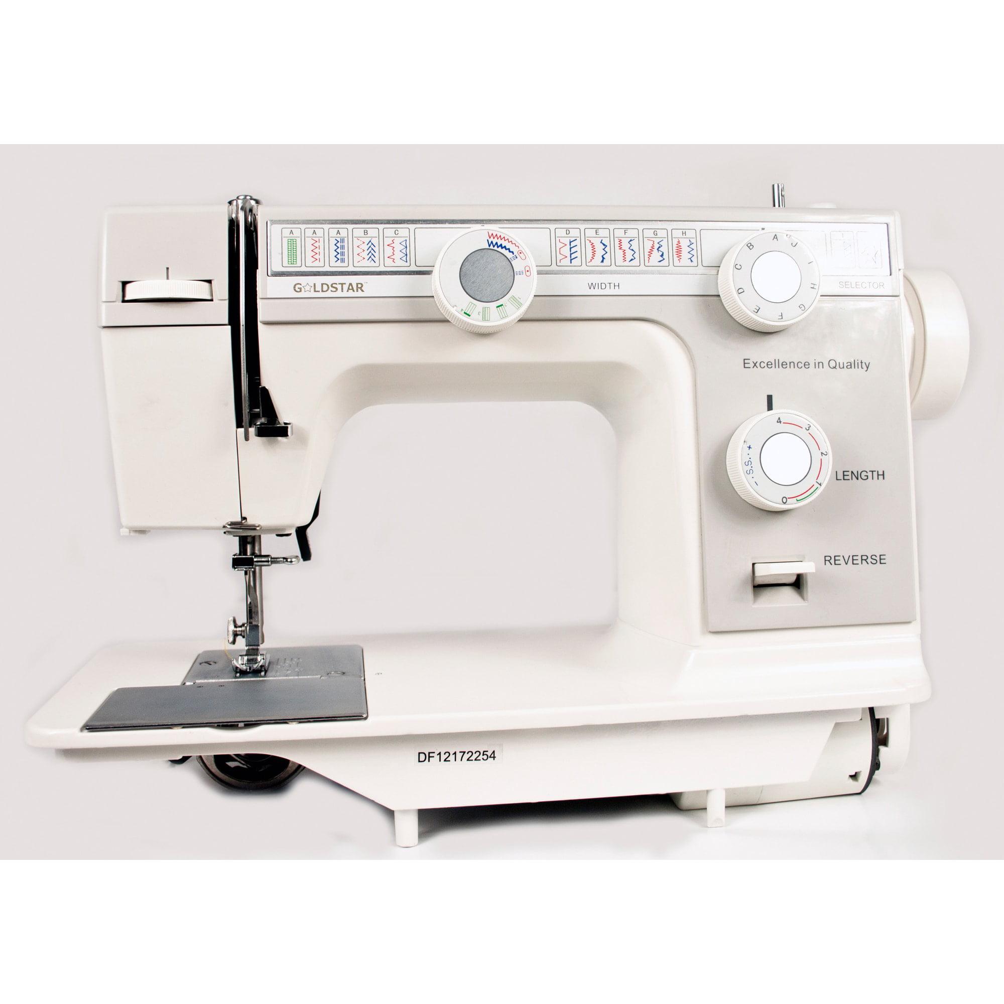 Feiyue Goldstar Flat Bed Sewing Machine with Bonus Carrying Case/ Base