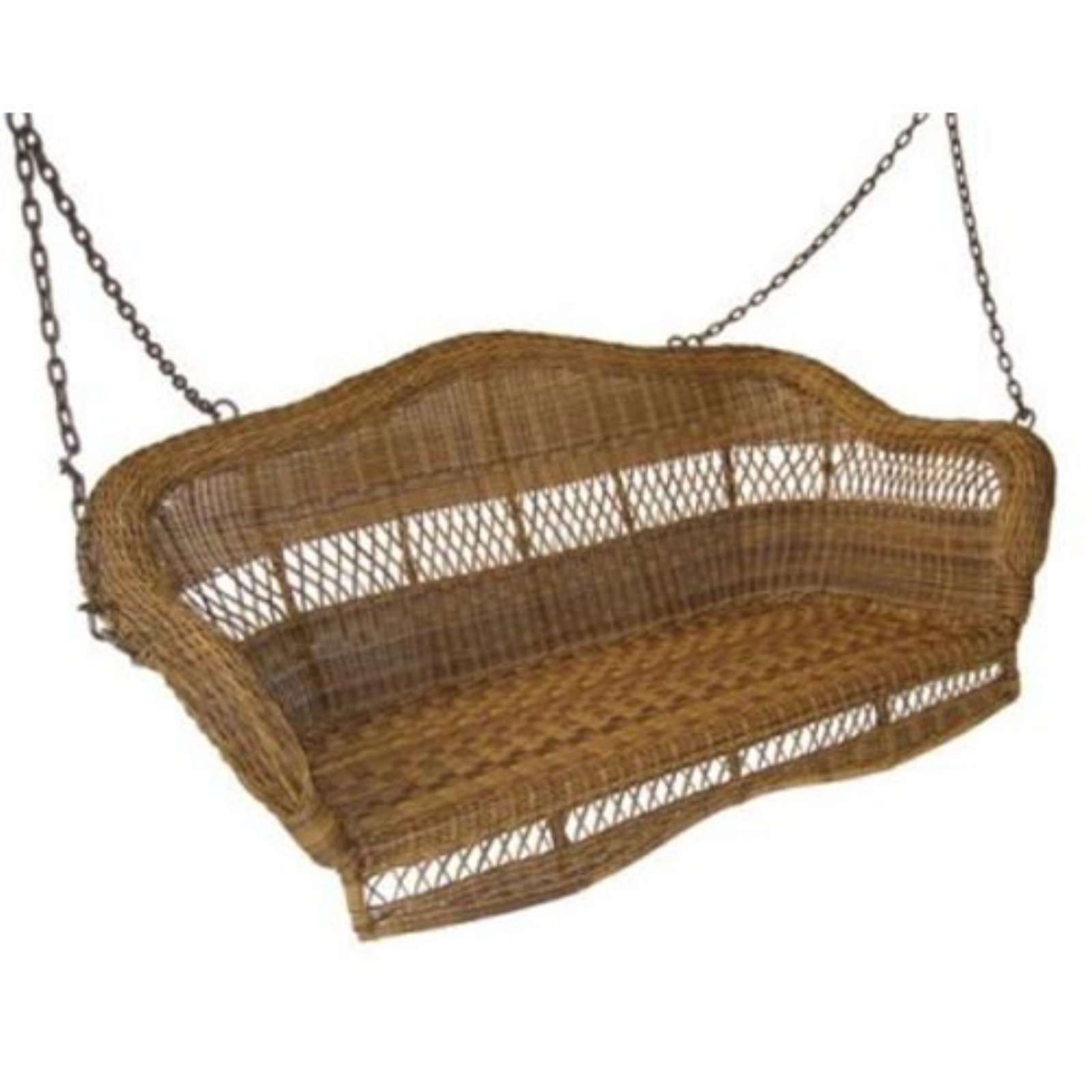 Sahara 4-ft. Resin Wicker Porch Swing by Resin Furniture