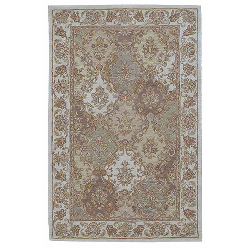 Nourison India House Detailed Pattern Hand Tufted Wool Rug Walmart Com