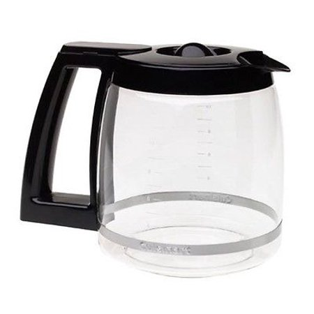 Cuisinart Coffee Maker Replacement Decanter : Cuisinart DCC-1200PRC 12 Cup Replacement Glass Carafe Black Coffee Maker Pot New GSS172353288 ...