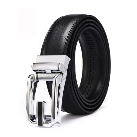 Xhtang 2017 New Style Comfort Click Belt Ratchet Leather Dress Belts
