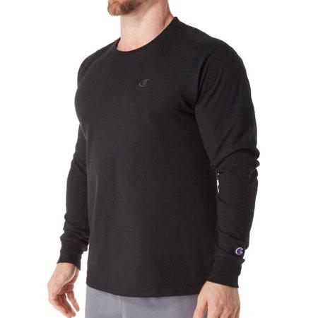 Champion Mens Classic Jersey Long Sleeve Tee Classic Long Sleeve Jersey