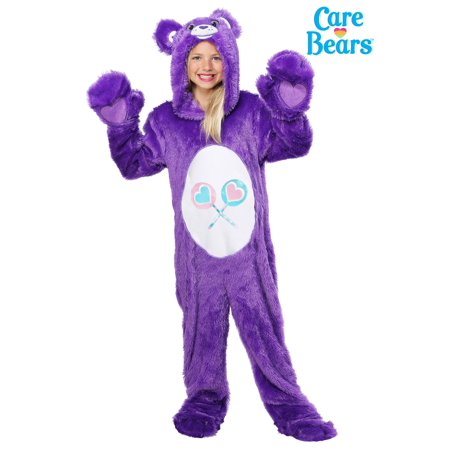 Childrens Bear Costume (Care Bears Child Classic Share Bear)