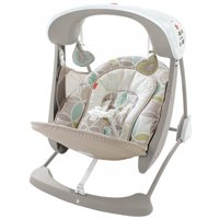 Fisher-Price Deluxe Take-Along Swing and Seat with 6-Speeds