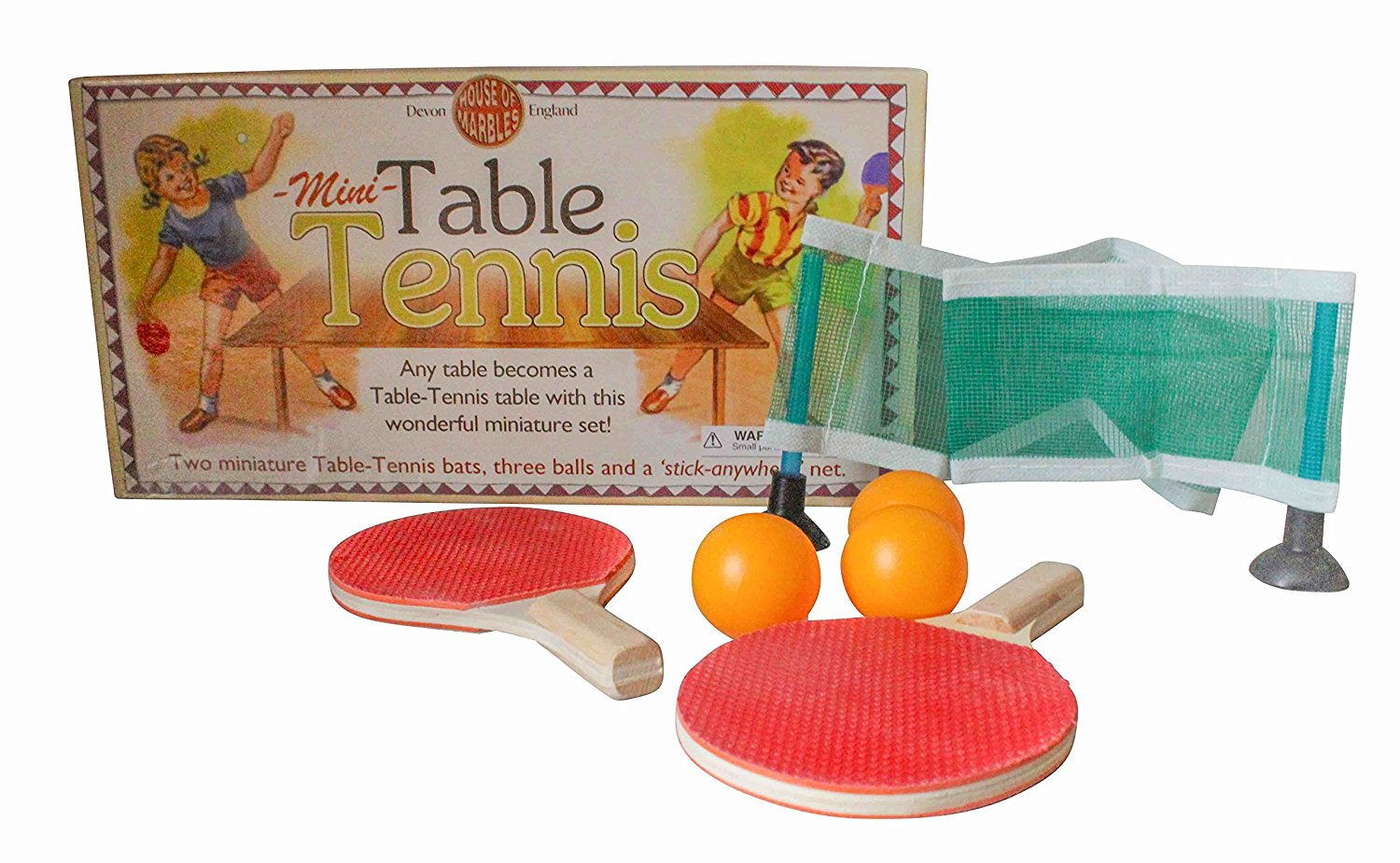 Miniature Table Tennis Ping Pong Set for Kids - Paddle Ball and Net Any  sc 1 st  Walmart & Miniature Table Tennis Ping Pong Set for Kids - Paddle Ball and Net ...