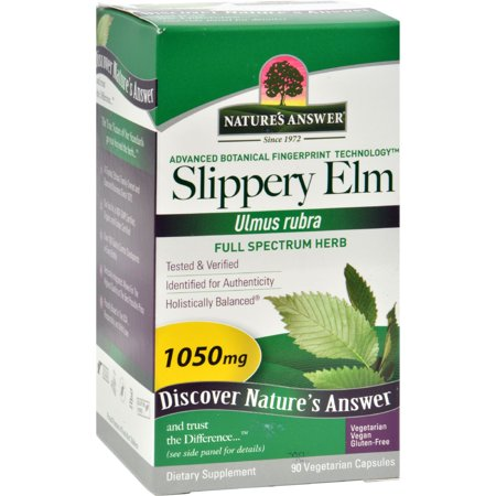 Natures Answer Natures Answer  Slippery Elm Bark, 90 ea