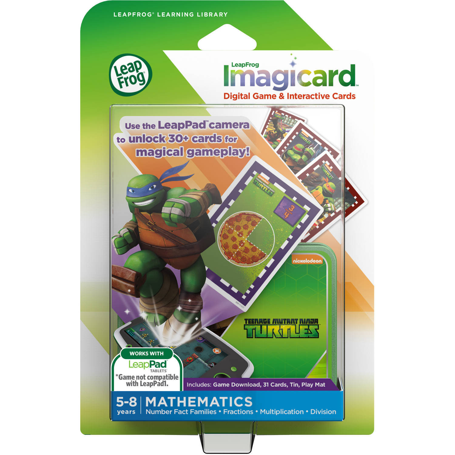 LeapFrog IMagicard Teenage Mutant Ninja Turtles Learning Game by LeapFrog