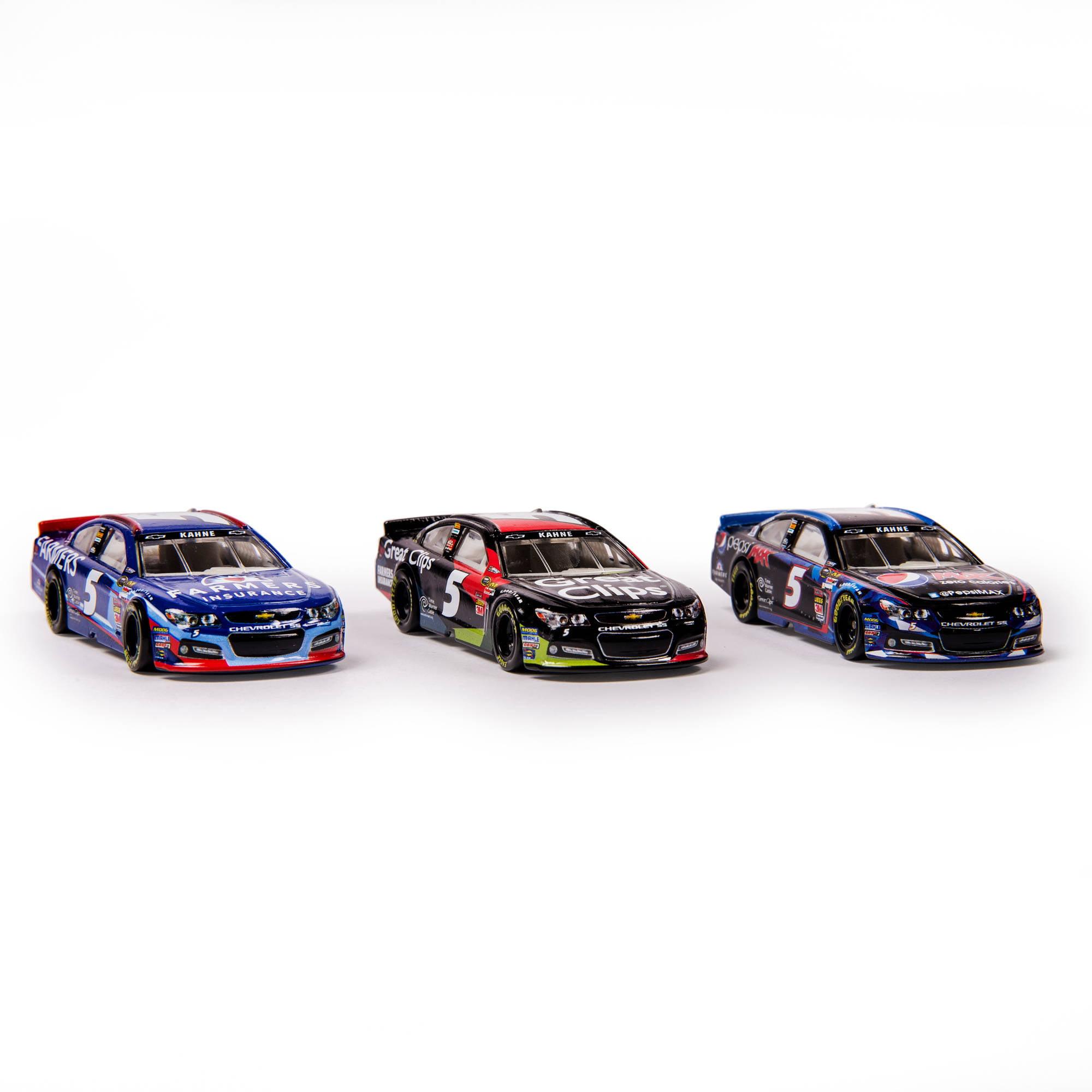 NASCAR 1:64 Collector Car, 3-Car Pack, Kasey Kahne Hendrick Motor ...
