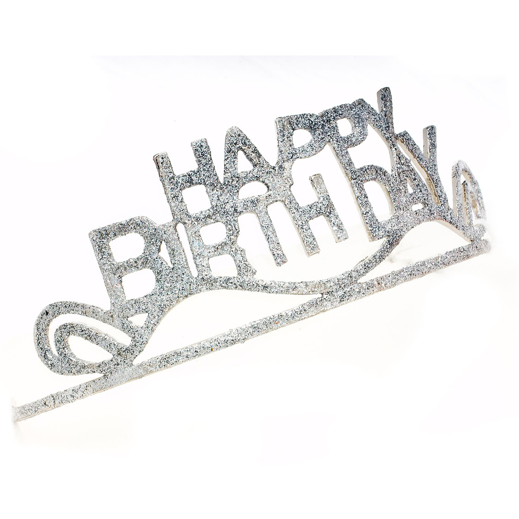 Sunnywood Birthday Babe Glitter Tiara Adult Costume Accessory