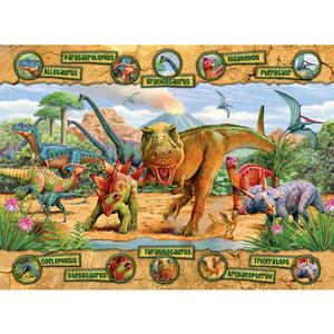 Ravensburger Dinosaurs Puzzle, 100 Pieces