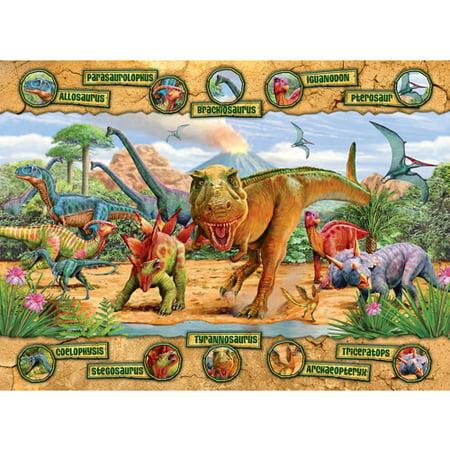 Ravensburger Block - Ravensburger Dinosaurs Puzzle, 100 Pieces