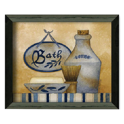 Timeless Frames Bath by Linda Spivey Framed Graphic Art Print on Paper