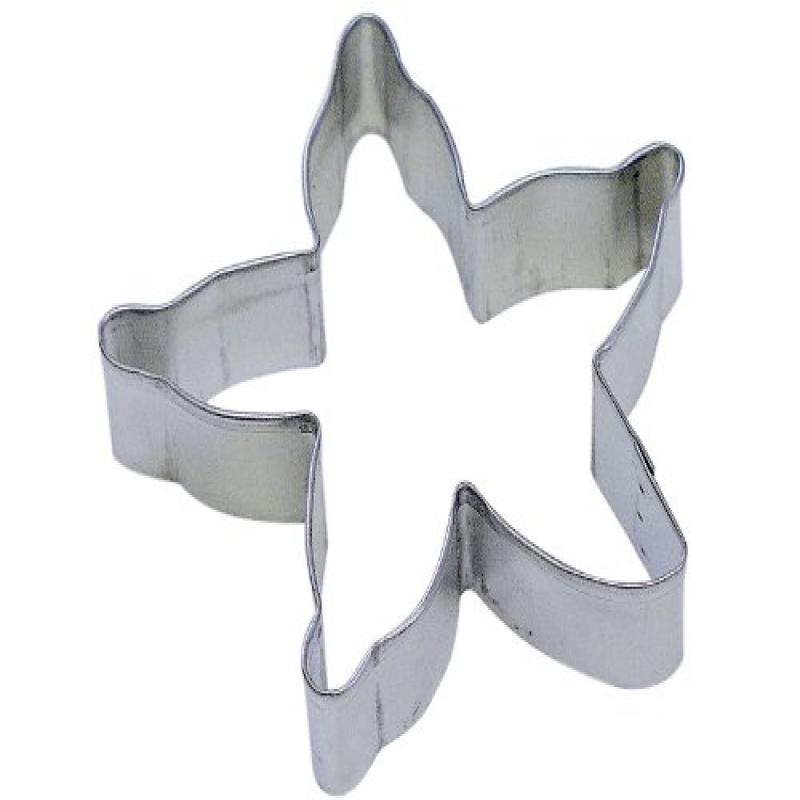 "R&M Starfish 4"" Cookie Cutter in Durable, Economical, Tinplated Steel"