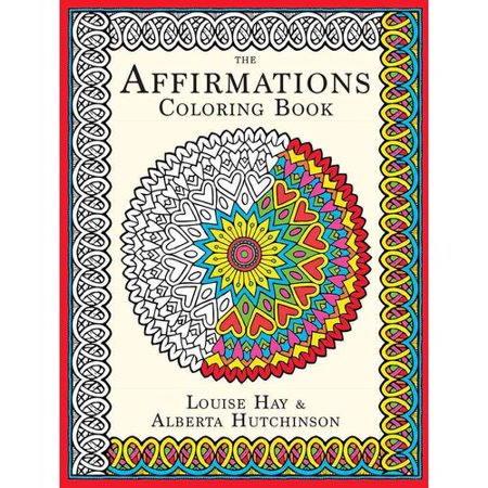 The affirmations coloring book Coloring book walmart