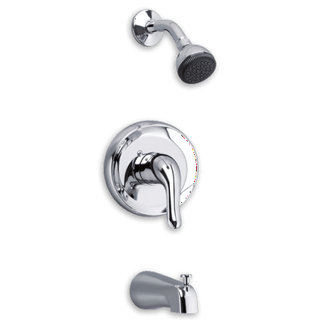 Diamond Shower Kit (American Standard Colony Soft Bath & Shower Trim Kit with Metal Lever Handle in)
