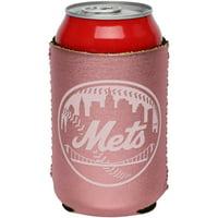 New York Mets 12oz. Rose Gold Can Cooler