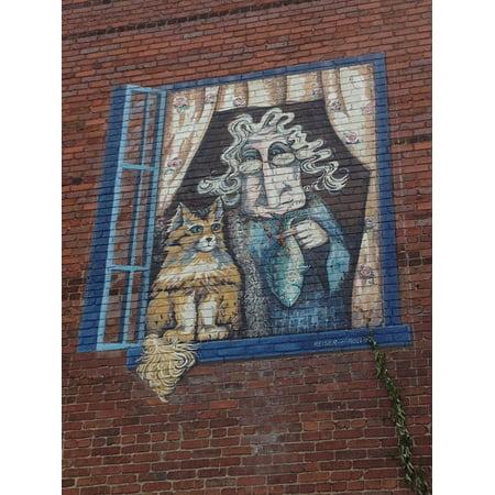 Canvas Print Asheville Nc Brick Exterior Building Asheville Stretched Canvas 10 x 14](Party City Asheville Nc)