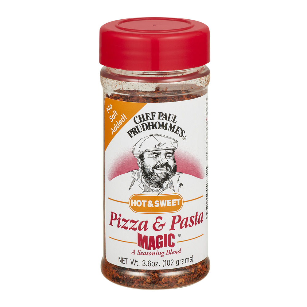 Chef Paul Prudhomme's Pizza & Pasta Magic Seasoning Blend Hot & Sweet, 3.6 OZ